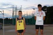 Medale młodych lekkoatletów